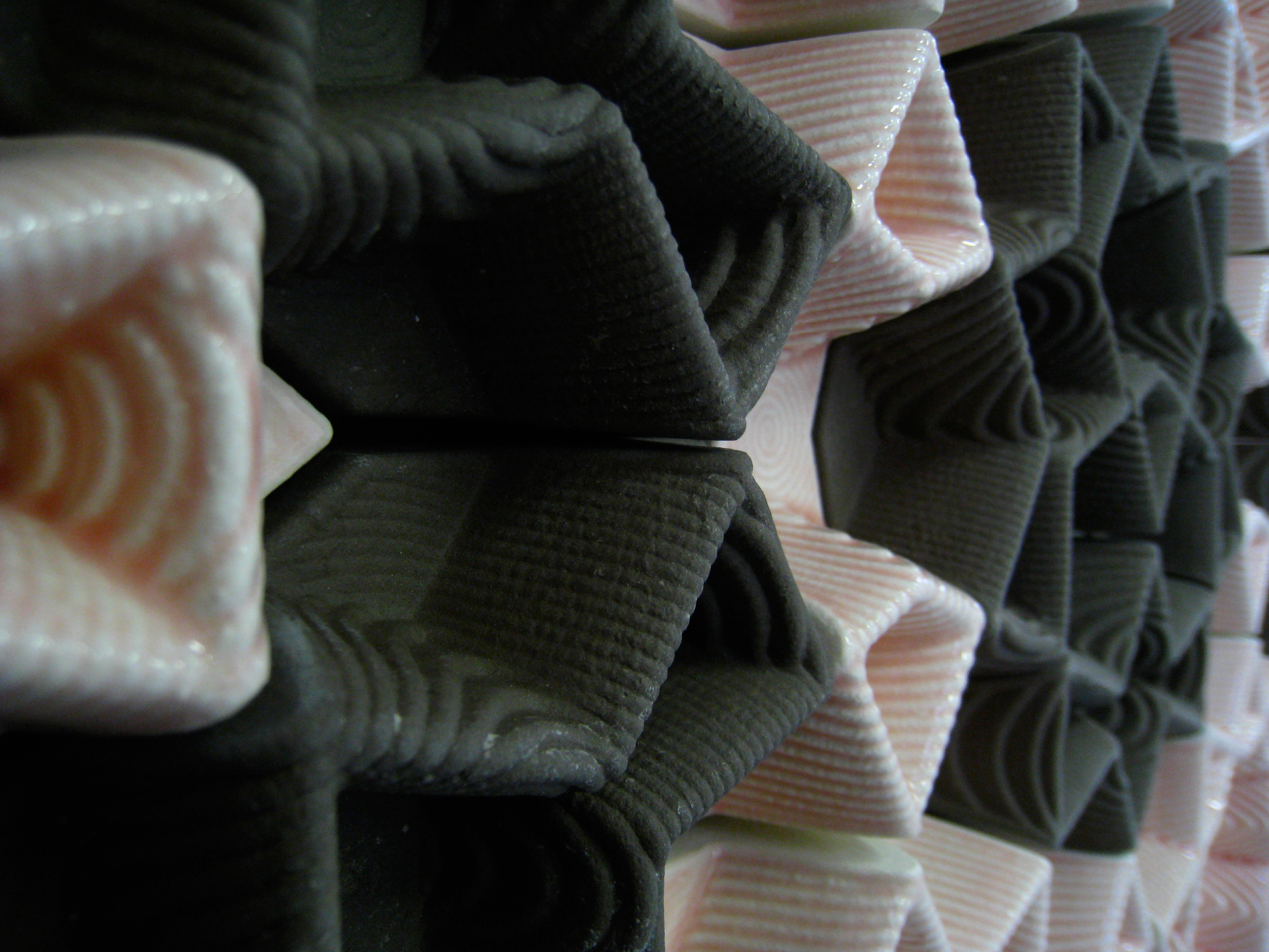 Data clay projects digital islam penrose tiling system that the large dodecahedrons would shrink more than the smaller tiles thus a gap was formed around these that was slightly larger than anticipated dailygadgetfo Images